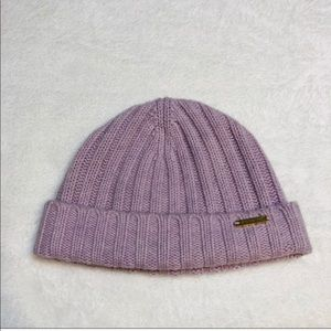 Burberry Lavender Beanie Winter Hat